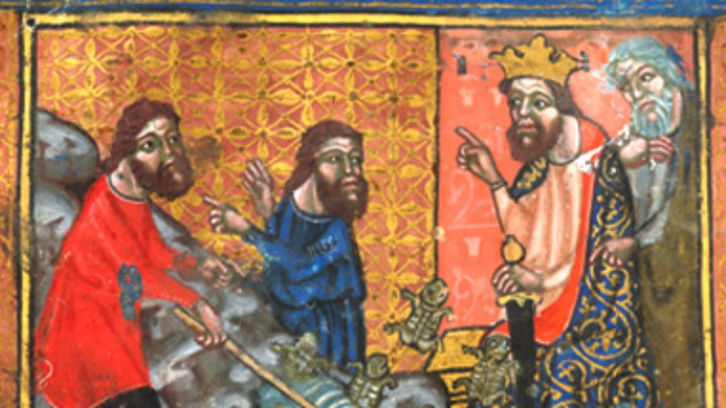 Frogs, Griffins, and Jews Without Hats: How My Children Illuminated the Haggadah