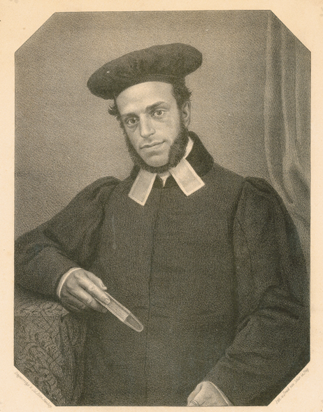 Samson Raphael Hirsch, Moravian-Silesian chief rabbi, 1847-1851. (Courtesy of the Jewish Museum, Prague.)