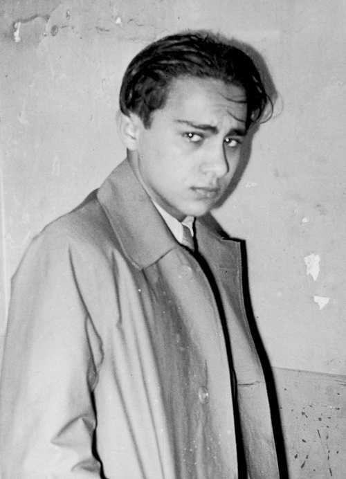 Herschel Grynszpan after his arrest on November 7, 1938. (Photo by Imagno/Getty Images.)