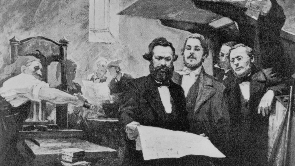 Karl Marx, Bourgeois Revolutionary
