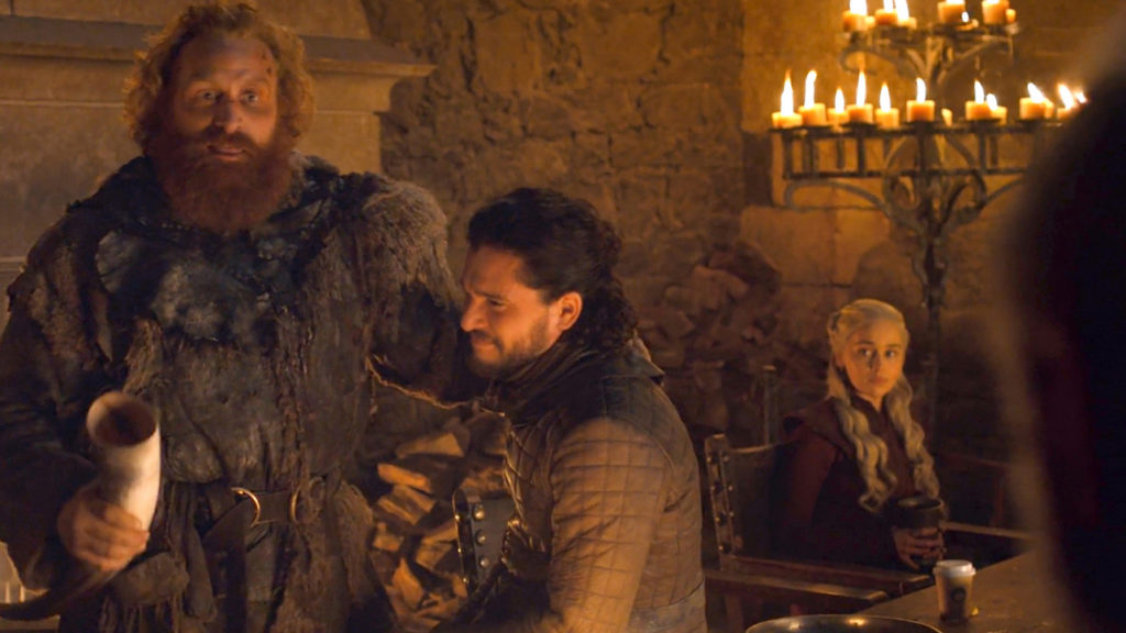 Watching Game of Thrones, Waiting for Shavuot